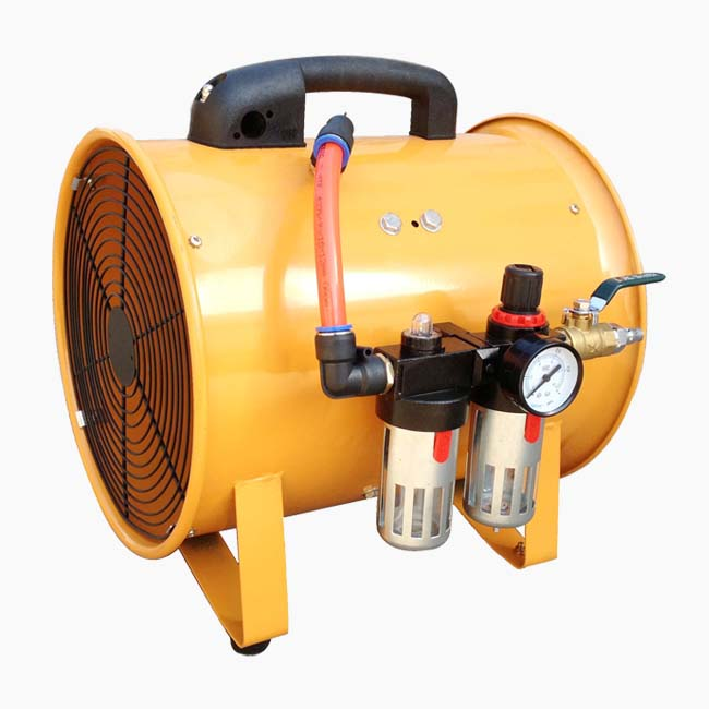 Pneumatic Portable Ventilation Fans 300mm